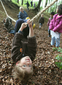MOntessori Nursery and Forest School near Cadmore End